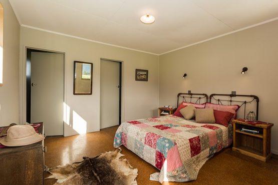 bedroom Wanaka Accommodation at Discover Dingleburn Station 555x370 - Accommodation