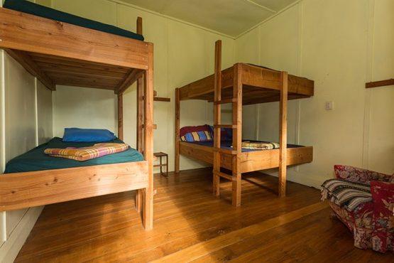 bunk bedroom Wanaka Accommodation at Discover Dingleburn Station 555x370 - Accommodation