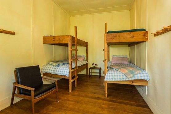 bunk beds Wanaka Accommodation at Discover Dingleburn Station 555x370 - Accommodation